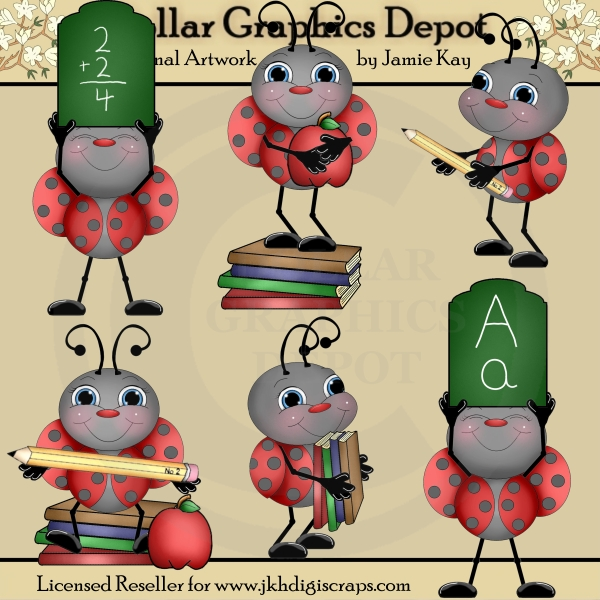 Ladybugs clipart school. Clip art dollar graphics