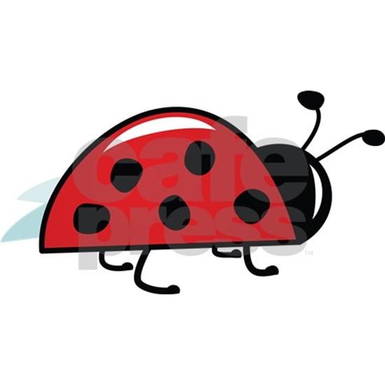 Ladybugs clipart side view. Ladybug wall decal
