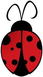 Ladybugs clipart silhouette. Ladybug panda free images