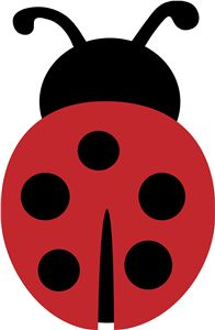 Free ladybug cliparts download. Ladybugs clipart silhouette