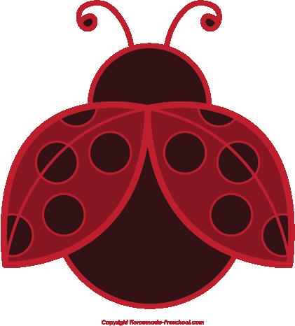 Free . Ladybug clipart simple