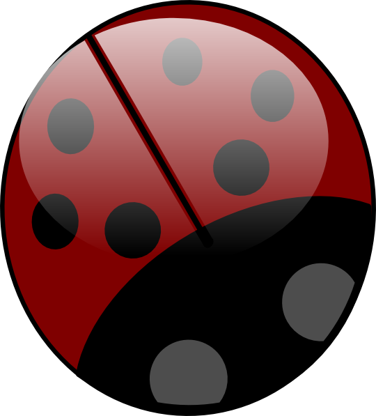 Ladybug clipart simple. Clip art at clker