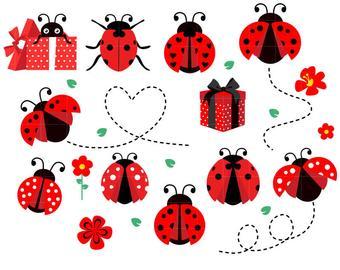 Etsy . Ladybug clipart small