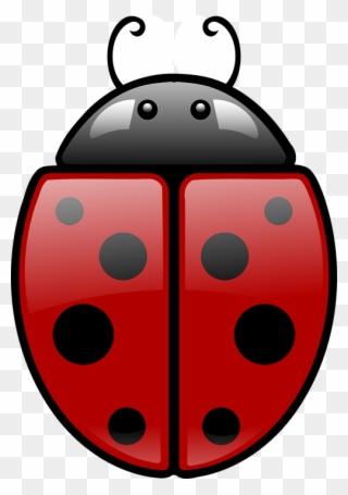Ladybug clipart symmetrical. Free png clip art