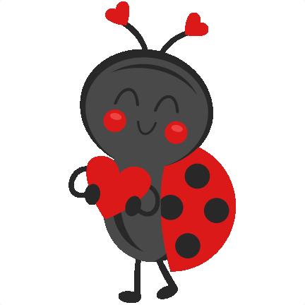 Ladybug clipart valentine. Pin on freebies