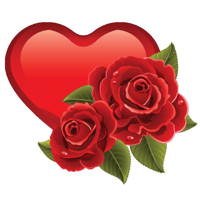 Heart love background day. Ladybug clipart valentine