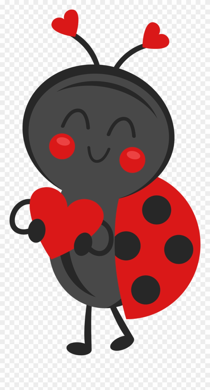 Ladybug clipart valentine. Bug valentines clip art