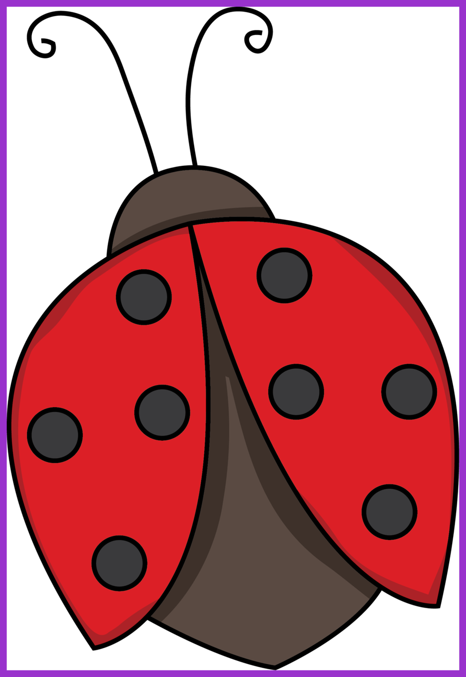 Stunning flying black and. Ladybug clipart watercolor