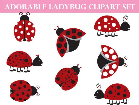 Ladybug clipart whimsical. Commercial use art love