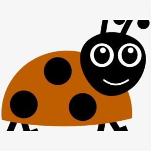 Ladybugs clipart 10 orange. Ladybug boarder cartoon free