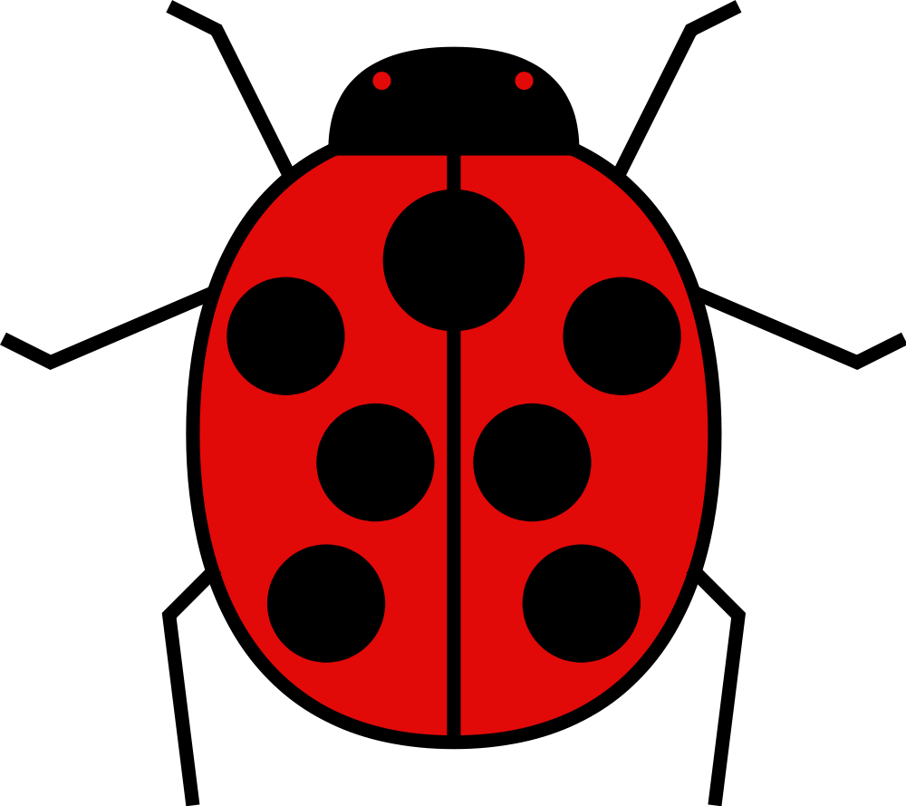 File meuble h raldique. Ladybugs clipart angry