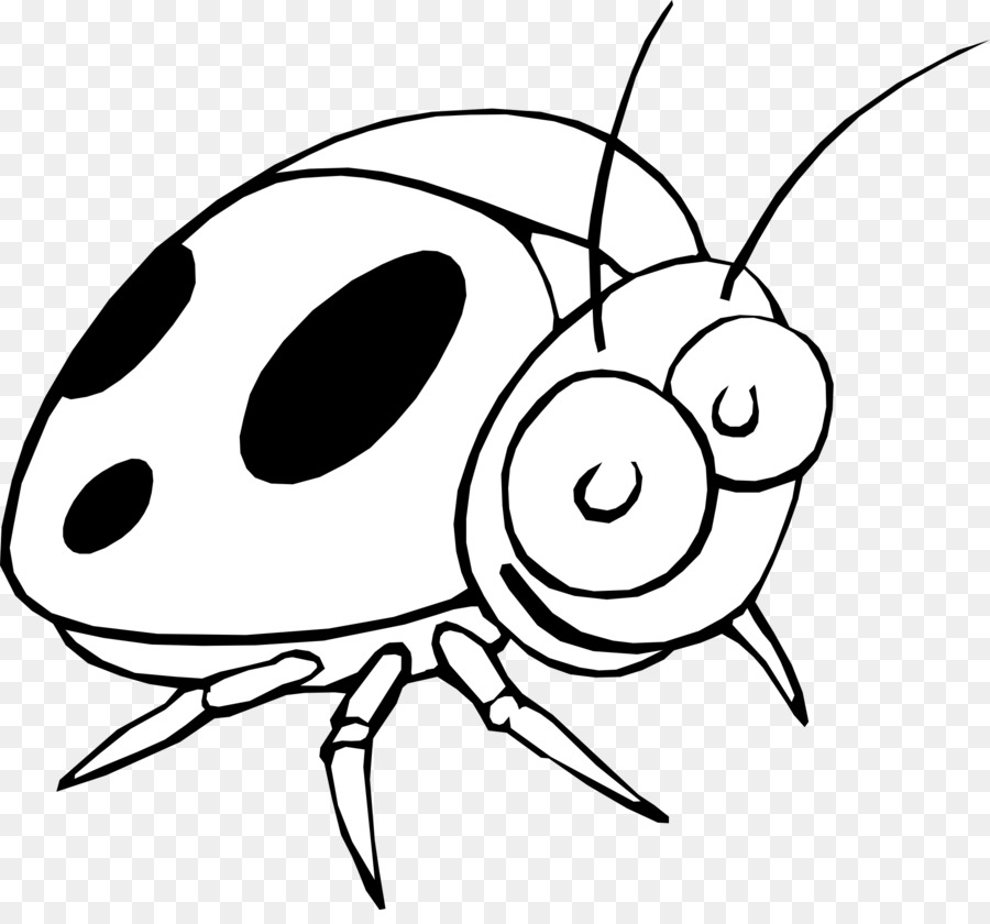 Ladybird nose transparent . Ladybugs clipart eye