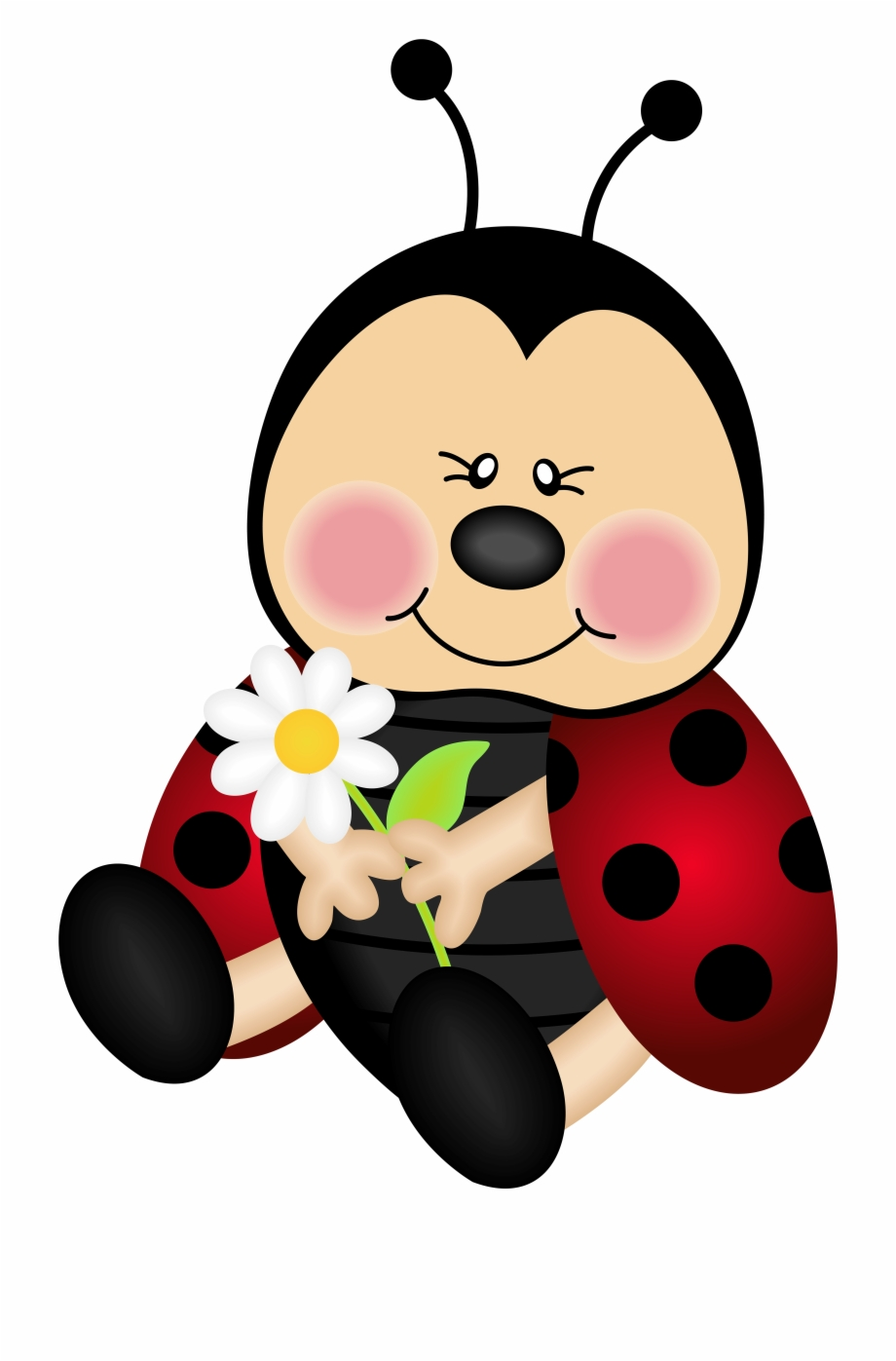 Ladybugs clipart free baby. Lady bug cartoon png