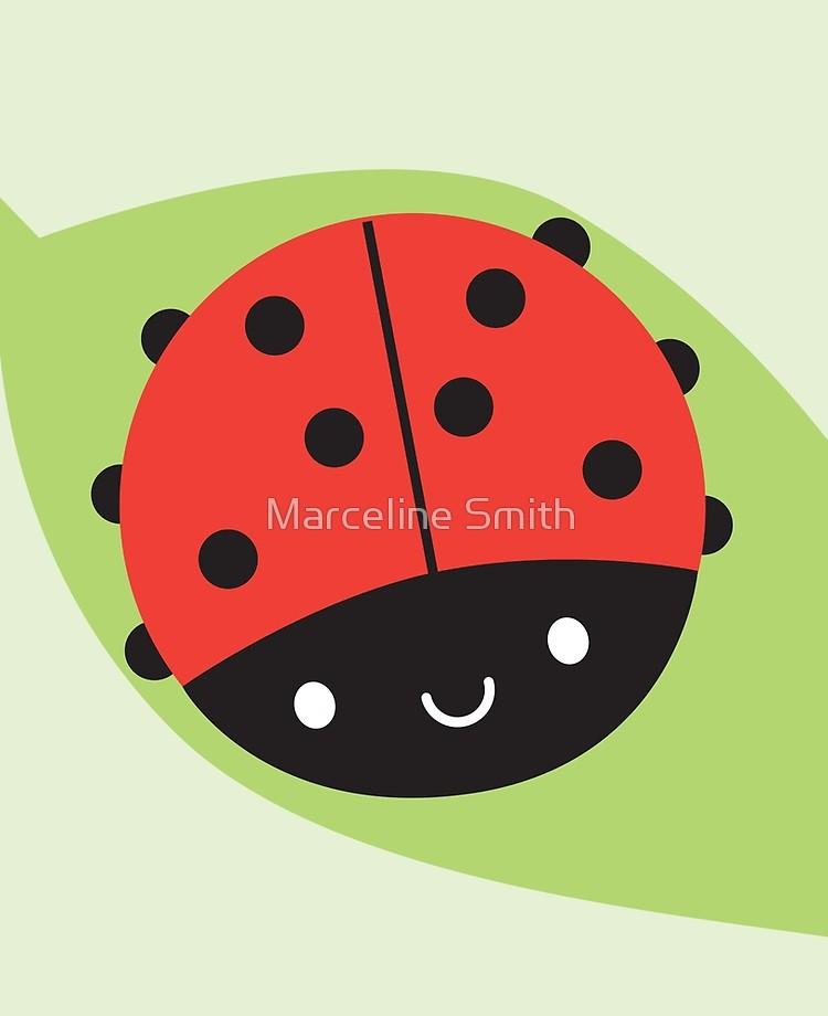 Ladybird ladybug ipad case. Ladybugs clipart kawaii