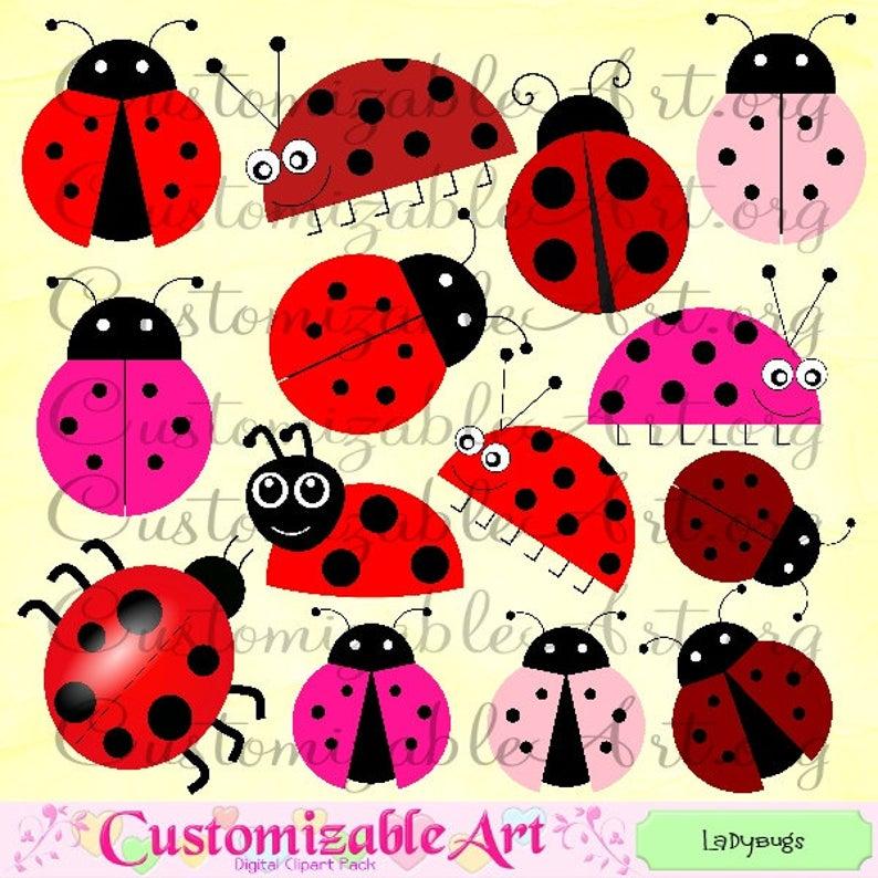 Ladybugs clipart ladybug wing. Digital clip art ladybird