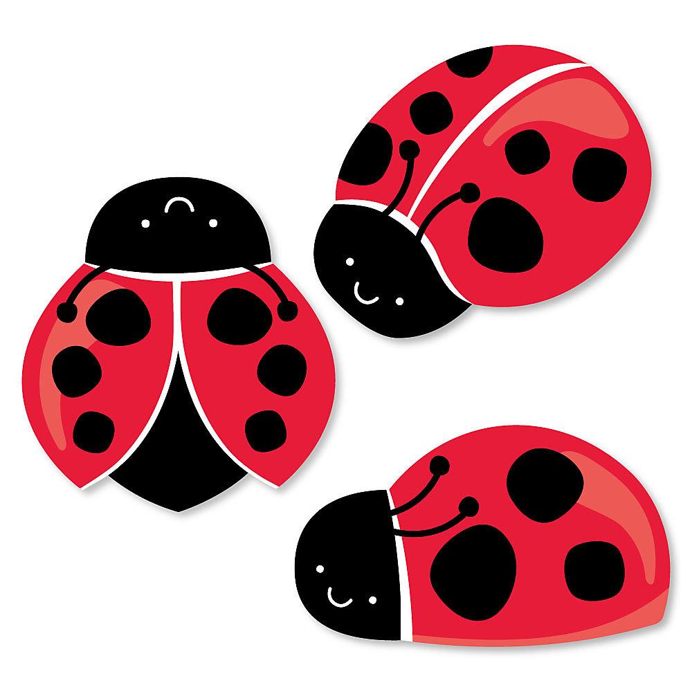 Happy little ladybug diy. Ladybugs clipart let's celebrate