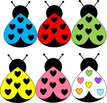 Ladybugs clipart love.