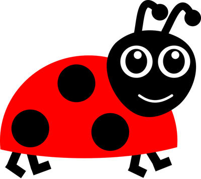 Ladybugs clipart one object. Free ladybug kids cartoon