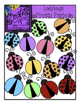Pretty pastels creative clips. Ladybugs clipart pastel