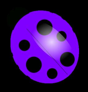 Ladybugs clipart purple. Clip art vector online