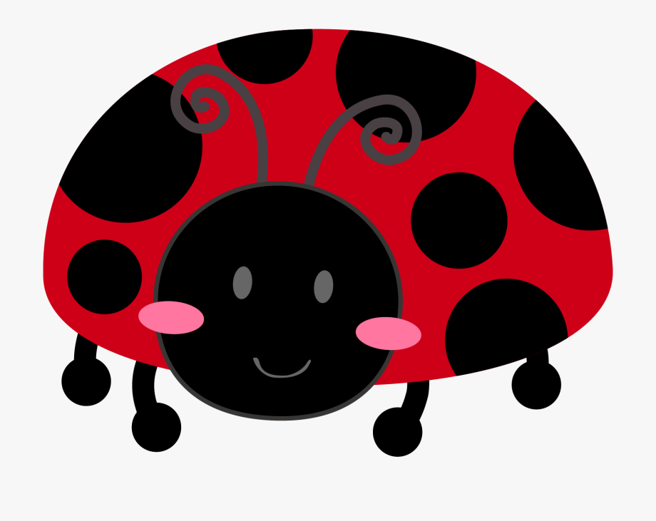 Ladybugs clipart spotless. White ladybug with spots
