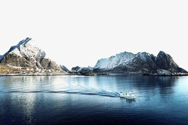 Lake clipart beautiful lake. Quiet cruise ship shore