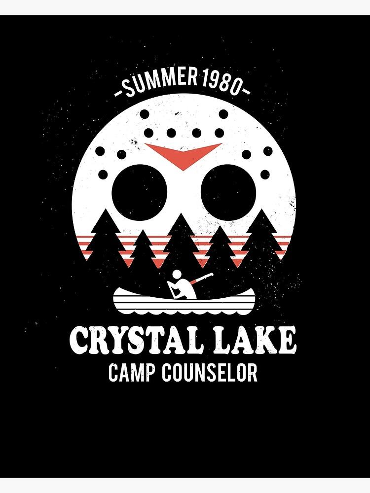 Crystal counselor poster . Lake clipart camp lake