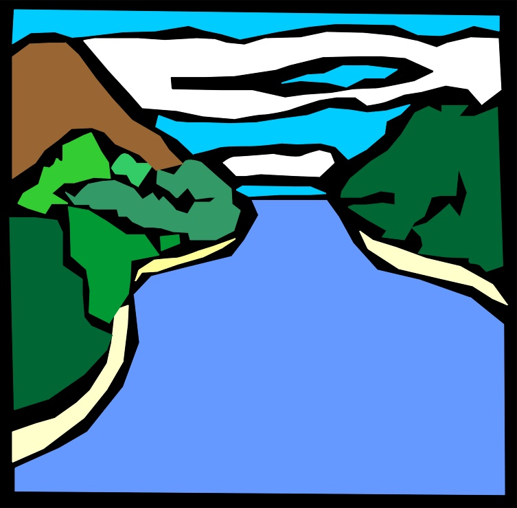 River clip art clipartbarn. Lake clipart creek