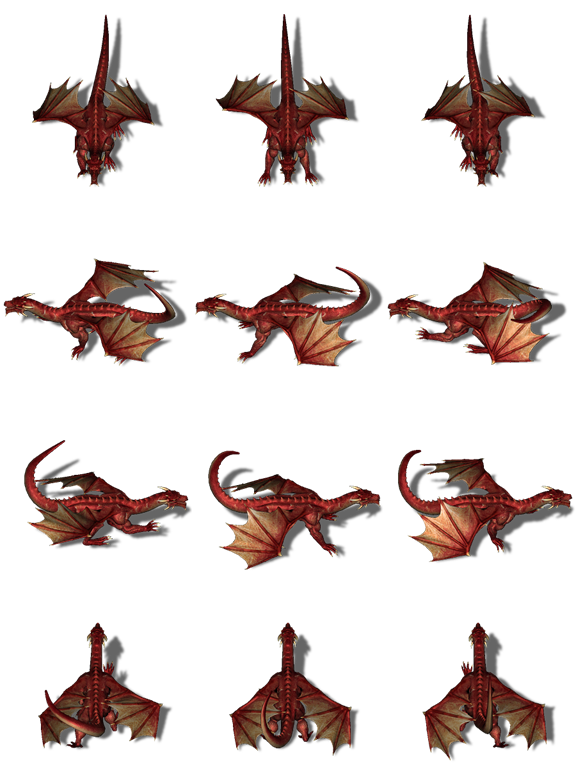 Mushrooms clipart dynamic. Top down red dragon