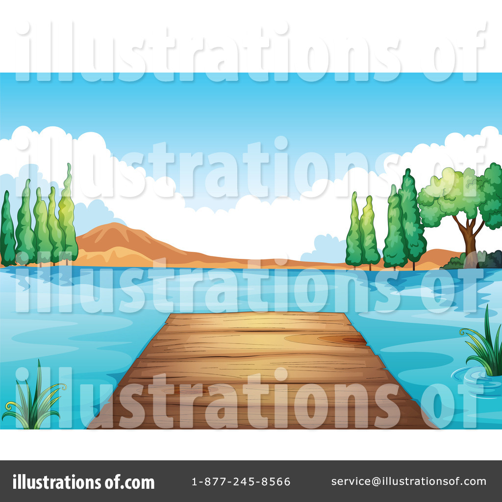 By graphics rf . Lake clipart illustration