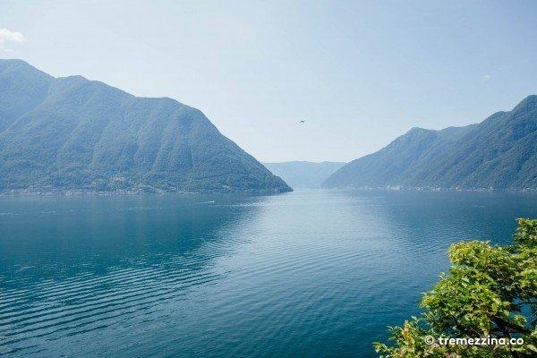 Greenway of como itinerary. Lake clipart lago