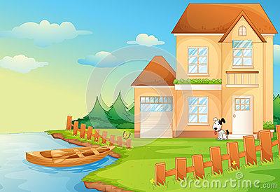 Lake clipart lake house. Cliparts making the web