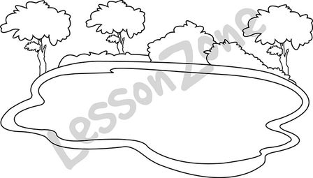 Black free cliparts download. Lake clipart lake outline