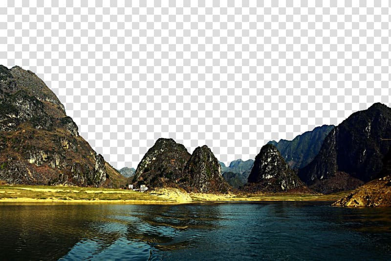 Baise fukei screensaver haokun. Lake clipart scenic