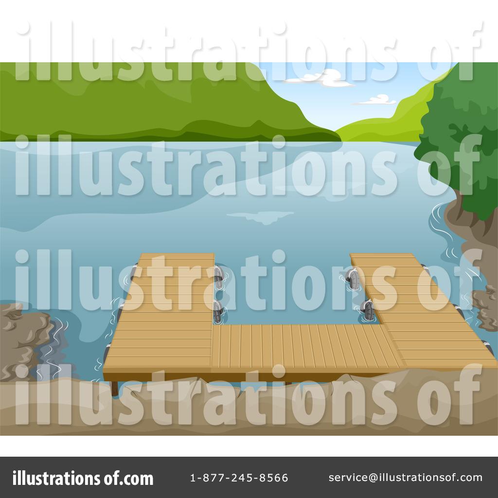 Lake clipart terrain. Illustration by bnp design
