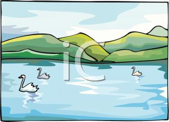 Lake clipart terrain. Animal clip art picture