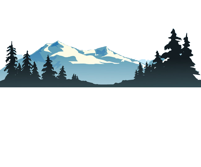 Lake clipart trees. Shutterstock clip art mountain