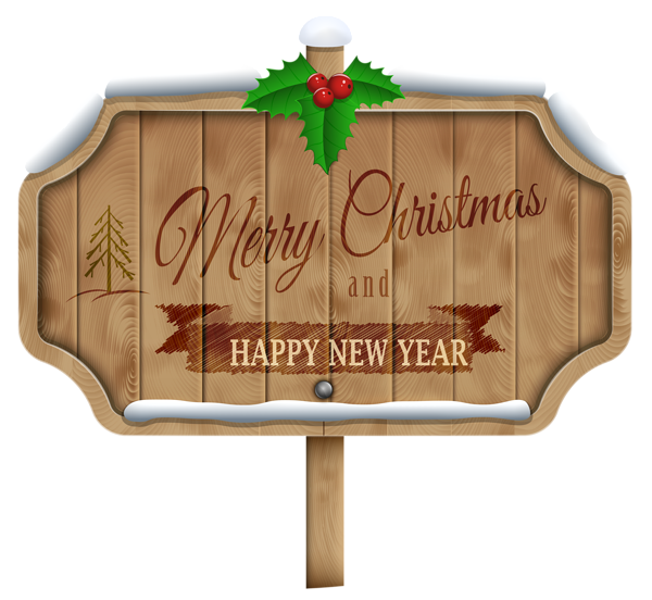 Christmas wooden sign transparent. Lake clipart winter