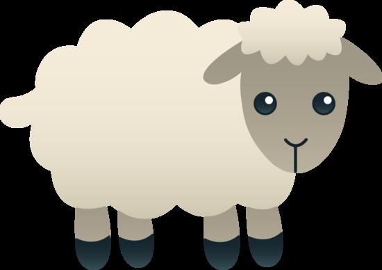 Lamb clipart. Free clip art of