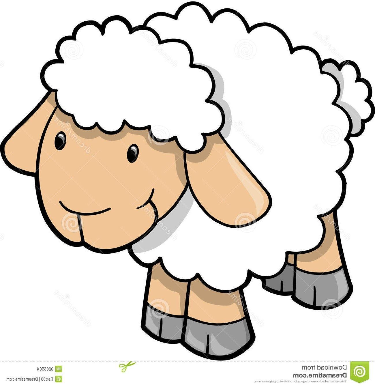 Cute sheep at getdrawings. Lamb clipart