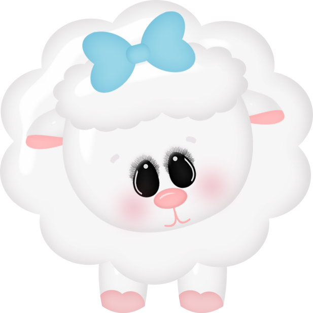 Lamb clipart baby shower. Vector and clip art