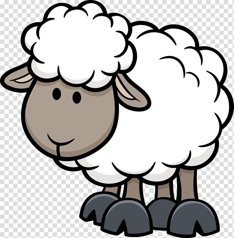 Lamb clipart cartoon. Sheep illustration animals white
