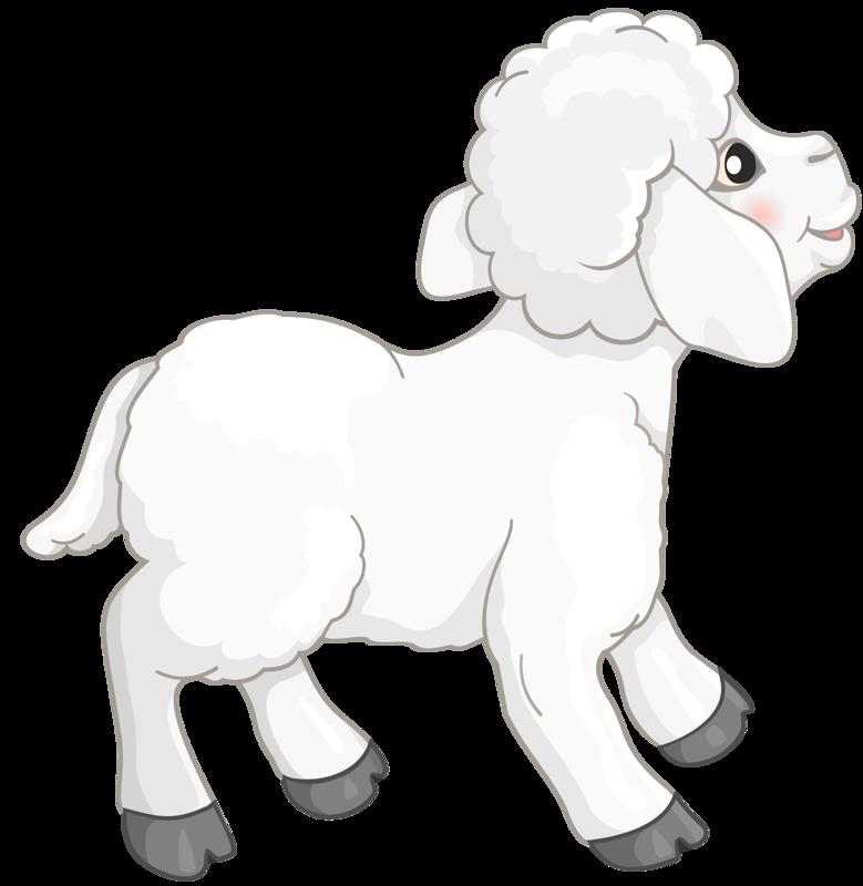Content png clip art. Lamb clipart creche