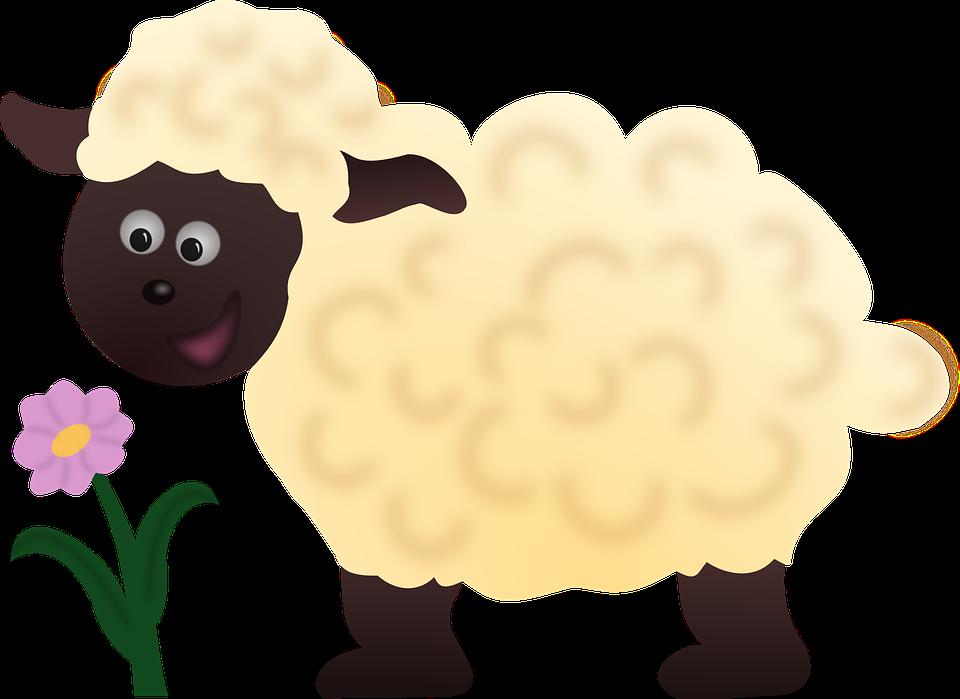 Lamb clipart female sheep. Cartoon ewe group free