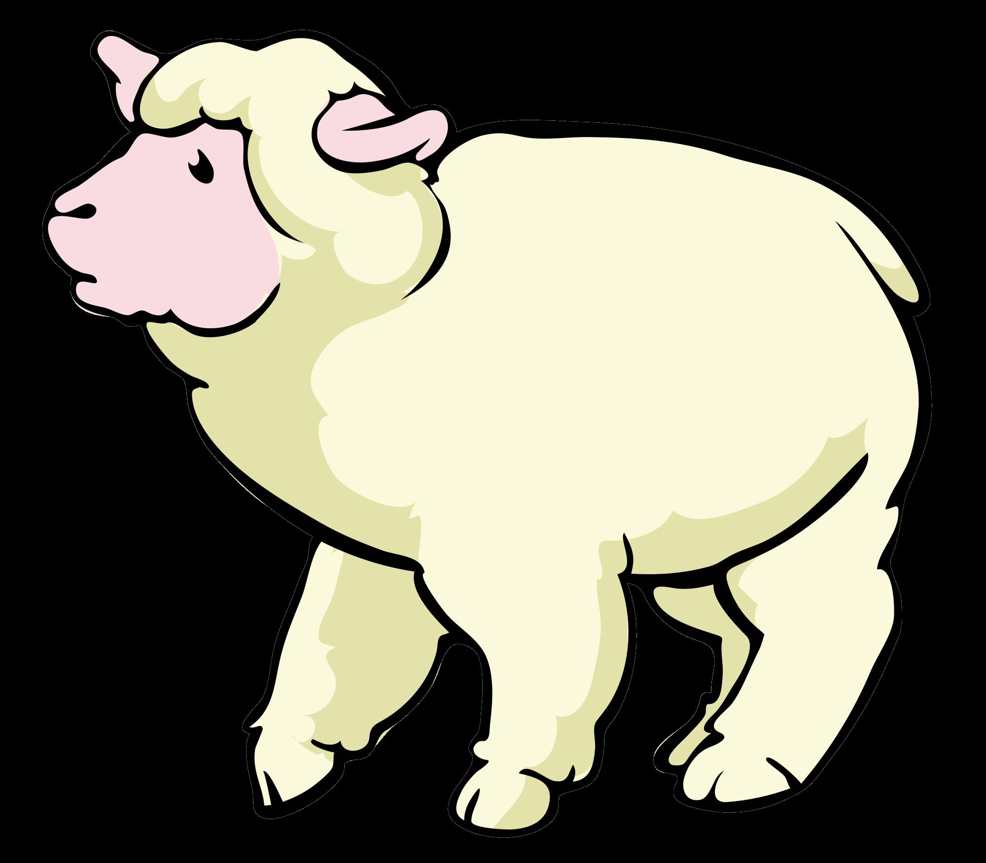 Sheep cartoon svg wikimedia. Lamb clipart file