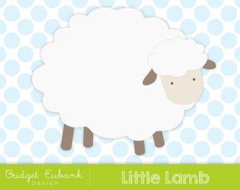 Etsy . Lamb clipart file