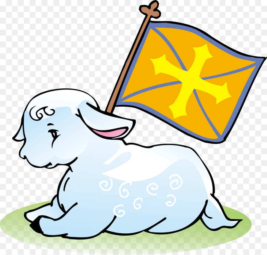 Sheep cartoon graphics product. Lamb clipart god