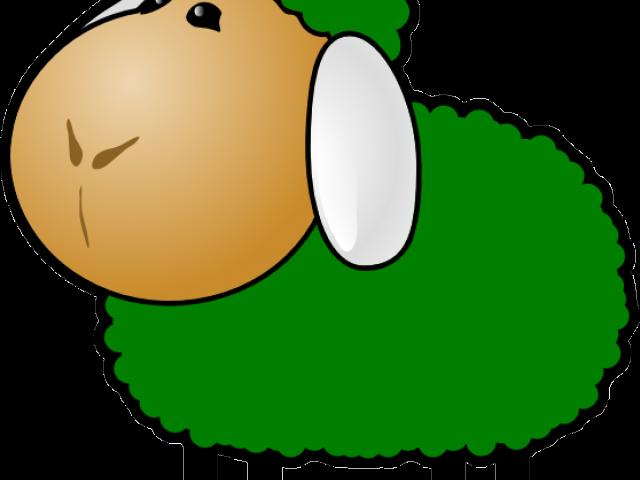 Lamb clipart green sheep. Baa black clip art