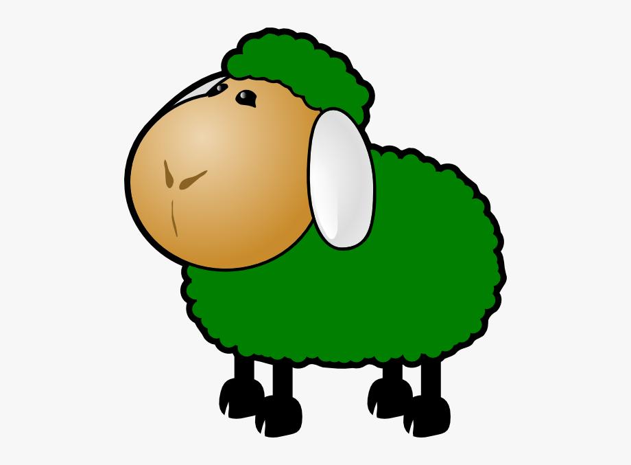 Lamb clipart green sheep. Outline clip art free