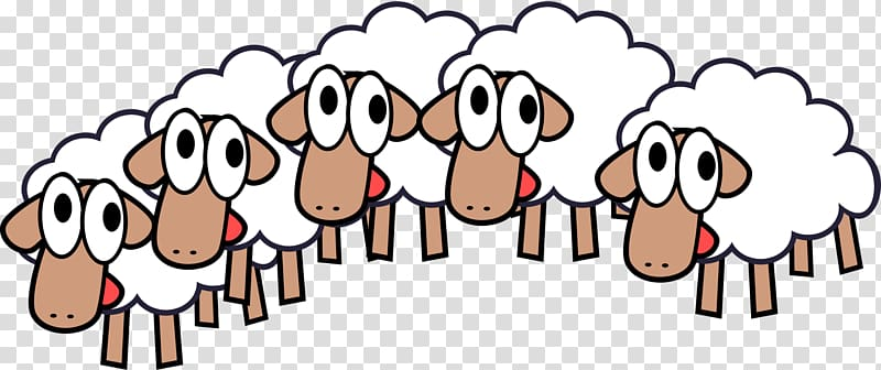 Lamb clipart herd. Black sheep blog transparent